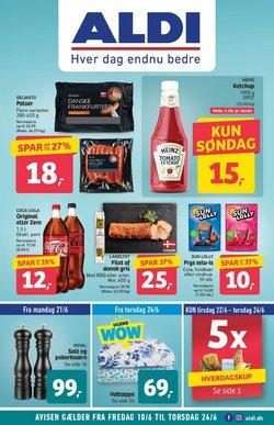 Tilbud fra Dagligvarer i ALDI kuponen ( Udløber i morgen)
