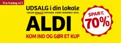 Tilbud fra ALDI i Randers kuponen