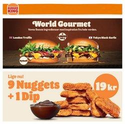 Tilbud fra Restauranter i Burger King kuponen ( 8 dage tilbage)