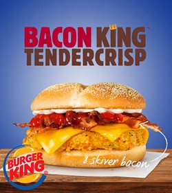Restauranter tilbud i Burger King kataloget i Horsens
