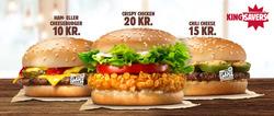 Tilbud fra Burger King i København kuponen
