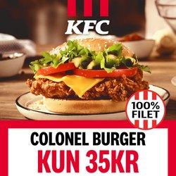 Tilbud fra Restauranter i KFC kuponen ( 5 dage tilbage)