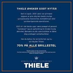 Thiele katalog ( Udløbet)