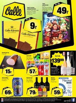 Calle katalog ( Udløber i morgen)
