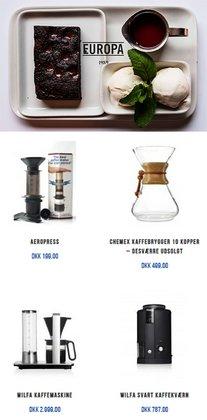 Café Europa katalog ( 4 dage tilbage )