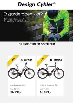 Tilbud fra Design Cykler i Design Cykler kuponen ( 11 dage tilbage)