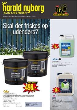 Tilbud fra Byggemarkeder i Harald Nyborg kuponen ( Udgivet i går)