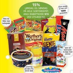 Tilbud fra Godteributikk i Godteributikk kuponen ( Udløber i dag)