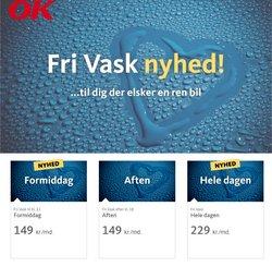 Tilbud fra OK i OK kuponen ( 15 dage tilbage)
