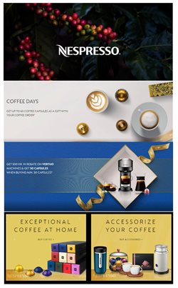 Nespresso katalog ( Udløbet )