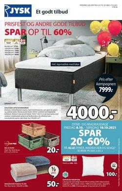Tilbud fra Hjem og møbler i JYSK kuponen ( Udløber i dag)