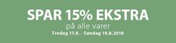 Tilbud fra JYSK i Hørsholm kuponen