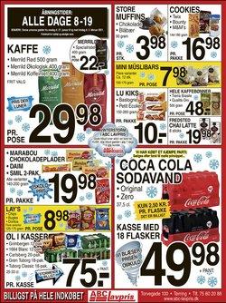 Dagligvarer tilbud i ABC Lavpris kataloget i Vejle ( Udgivet i går )