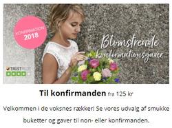 Tilbud fra Euroflorist i København kuponen