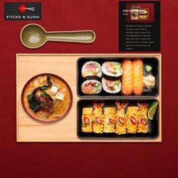 Sticks N' sushi katalog ( Udløbet )
