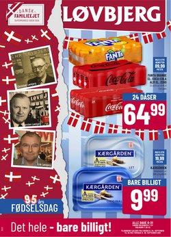 Tilbud fra Dagligvarer i Løvbjerg kuponen ( Udgivet i går)