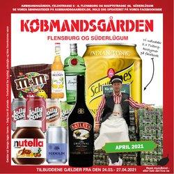 Dagligvarer tilbud i Købmandsgården kataloget i Holstebro ( 16 dage tilbage )