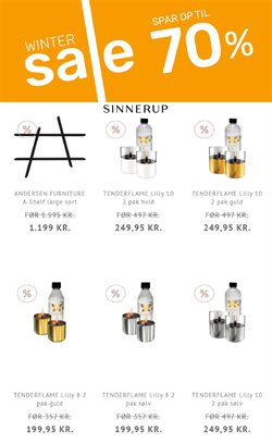 Tilbud fra Sinnerup i Sinnerup kuponen ( Udløbet)