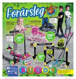 Legetøj og baby tilbud i Buddy Leg kataloget i Holstebro ( 3 dage tilbage )