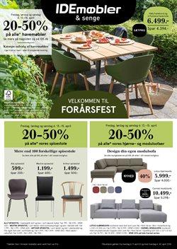 Hjem og møbler tilbud i IDEmøbler kataloget i Fredericia