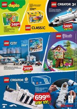 Tilbud fra Lego i Legekæden kuponen ( Udløber i morgen)