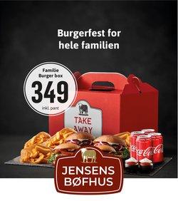 Jensen's Bøfhus katalog ( Udløbet )