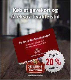 Restauranter tilbud i Jensen's Bøfhus kataloget i København ( 26 dage tilbage )