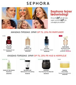 Tilbud fra Kosmetik og sundhed i Sephora kuponen ( 10 dage tilbage)