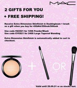 Tilbud fra Kosmetik og sundhed i MAC Cosmetics kuponen ( 3 dage tilbage)