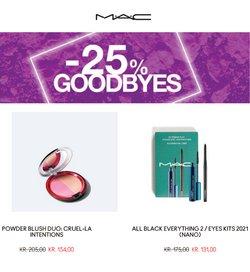 Tilbud fra Kosmetik og sundhed i MAC Cosmetics kuponen ( 10 dage tilbage)