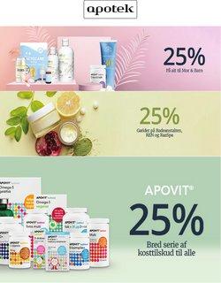 Tilbud fra Kosmetik og sundhed i Apoteket kuponen ( 12 dage tilbage)