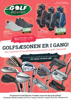 Tilbud fra Golf Experten i Golf Experten kuponen ( Over 30 dage)