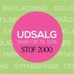 Mode tilbud i Stof 2000 kataloget i Vejle ( 3 dage tilbage )