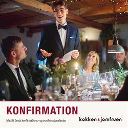 Restauranter tilbud i Kokken & Jomfruen kataloget i Odense ( Over 30 dage )