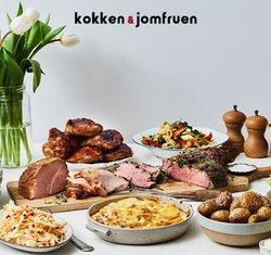 Restauranter tilbud i Kokken & Jomfruen kataloget i Holstebro ( Udgivet i går )