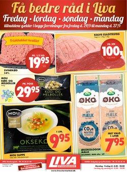 Tilbud fra Liva-Stormarked i Liva-Stormarked kuponen ( Udgivet i går)
