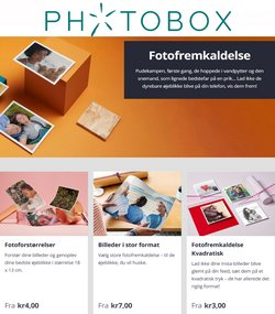 Tilbud fra Elektronik og hvidevarer i Photobox kuponen ( Udløber i dag)