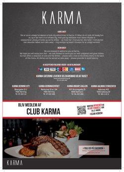 Tilbud fra Karma Cafe Restaurant i Karma Cafe Restaurant kuponen ( 15 dage tilbage)