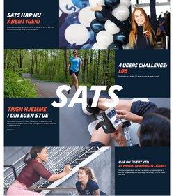 Tilbud fra SATS i SATS kuponen ( 6 dage tilbage)