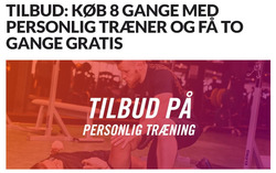 Tilbud fra Fitness DK i København kuponen