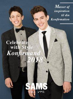 Tilbud fra Sams Men's Wear i København kuponen