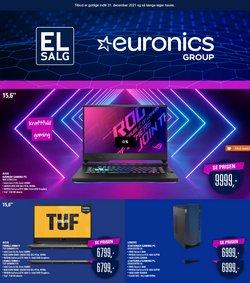Tilbud fra Elektronik og hvidevarer i Euronics kuponen ( Over 30 dage)