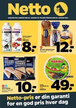 Dagligvarer tilbud i Netto kataloget i København ( Udgivet i går )
