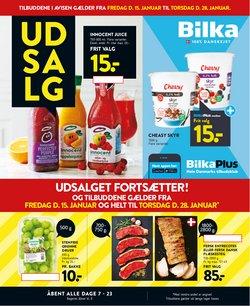 Dagligvarer tilbud i Bilka kataloget i København ( 4 dage tilbage )