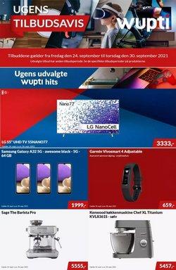 Tilbud fra Elektronik og hvidevarer i Wupti kuponen ( Udgivet i går)