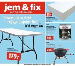 jem & fix katalog ( Udgivet i dag)