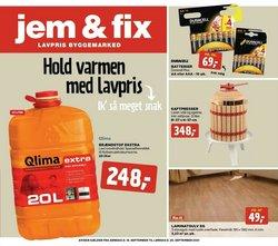 jem & fix katalog ( Udløber i dag)