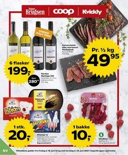 Tilbud fra Dagligvarer i Kvickly kuponen ( Udløber i morgen)