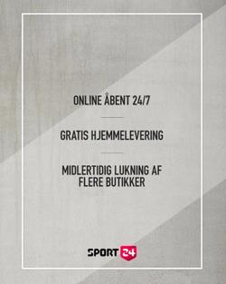 Sport 24 kupon ( 5 dage tilbage )