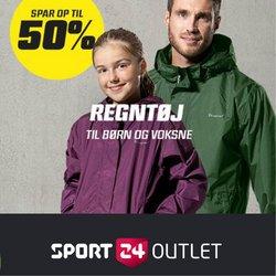 Tilbud fra Sport 24 Outlet i Sport 24 Outlet kuponen ( Udløbet)